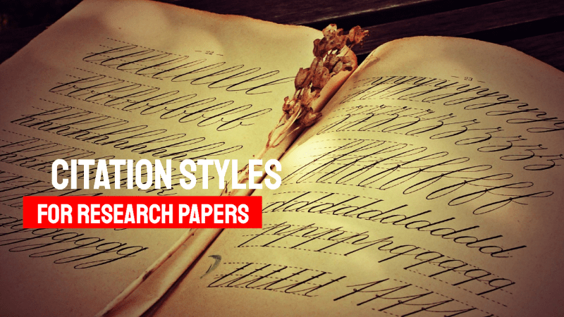 What Citation Style Will Be Used To Format My Research Paper?
