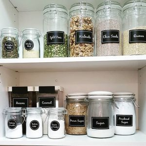 Pantry Organization For Food Storage