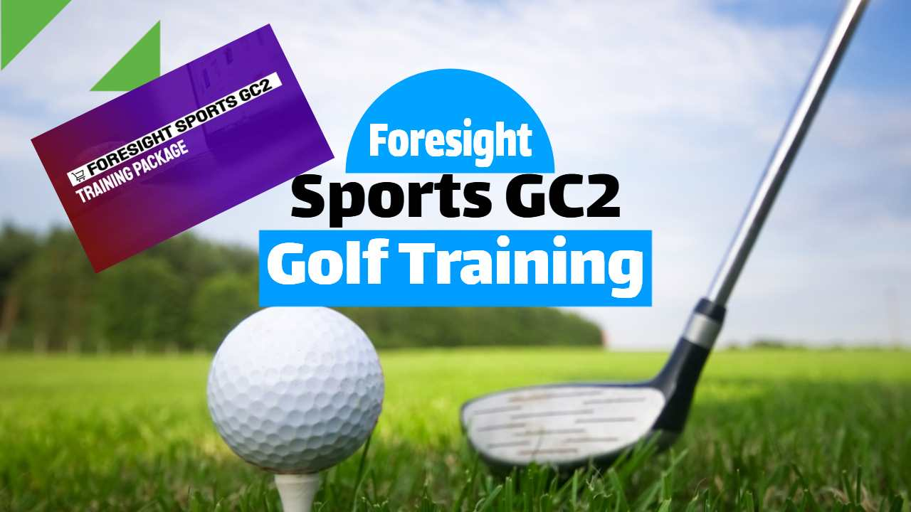 """Featured iimage text: """"Foresight Sport GC2 Training Package""""."""