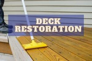 Deck  Restoration Guide
