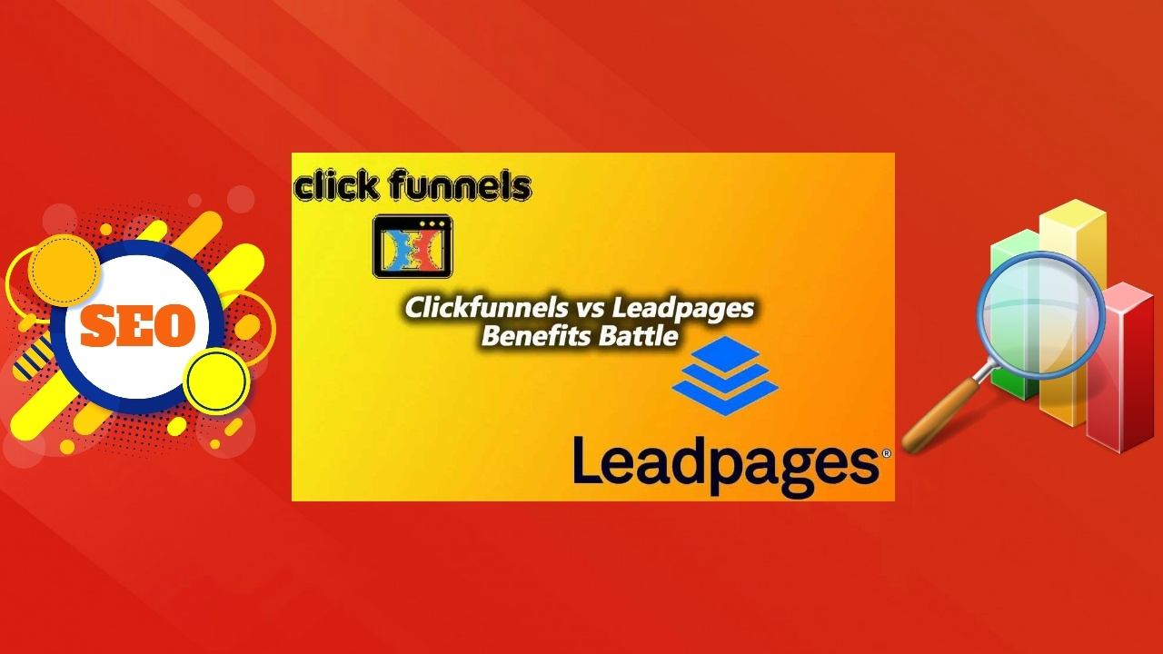 "Image text: ""Clickfunnels vs Leadpages Review Battle""."
